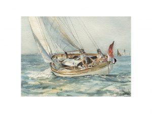 Elizabeth . afmeting: ....x.... aquarel