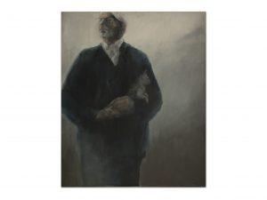 J. Buijs . 100 x 120 cm . acryl op doek